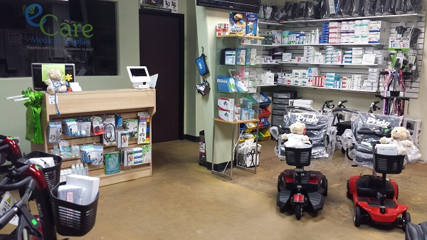 Contact E Care Medical Supplies & Medical Equipment Rentals in