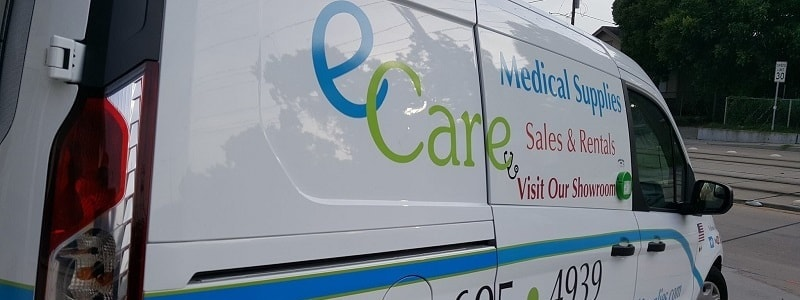Shipping & Delivery Policy - E Care Medical Supplies Houston TX