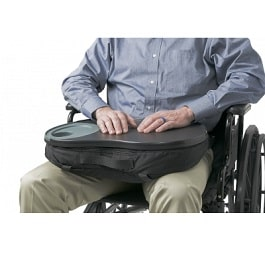 Comfortable Beanbag Style Wheelchair Tray
