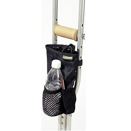 Universal Crutch Carryon With Adjustable Hooks and Straps