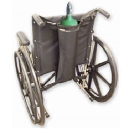 Wheelchair Single Oxygen Cylinder Holder