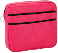 Universal Mobility Bag for Walkers or Rollators Pink Fuschia