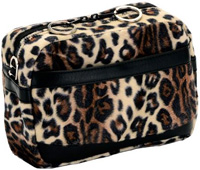 Universal Mobility Handbag For Walkers Or Rollators Leopard