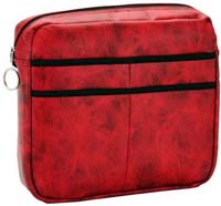 Universal Mobility Bag for Walkers or Rollators Rocking Red
