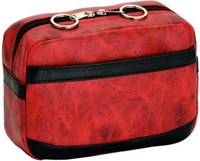 Universal Mobility Handbag For Walkers Or Rollators Rocky Red