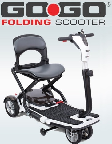 Go-Go Folding Mobility Power Scooter