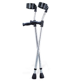 Adult Forearm Crutches (Pair)-300 Lbs Capacity