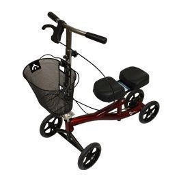 Roscoe Knee Scooter & Knee Walker With Basket - 350 Lbs Capacity
