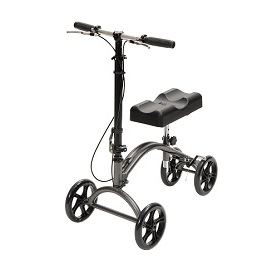 Steerable Knee Walker & Knee Scooter-300 Lbs Capacity