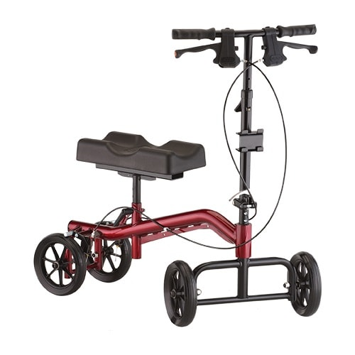 Turning Knee Walker and Knee Scooter Heavy Duty-400 Lbs Capacity