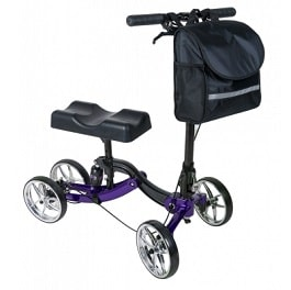 Lumex Knee Walker With Shock Absorber - 300 Lbs Cap