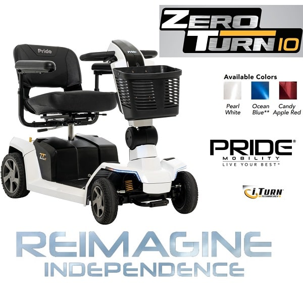 Zero Turn Victory 10 With Suspension System - 400 Lb Cap