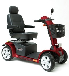 Full Size Pursuit Mobility Power Scooter 4-Wheel-400 Lbs Cap.