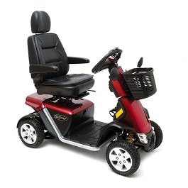 Pursuit Sports 36V Power Scooter 4-Wheel-400 Lbs Cap.