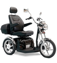Pride Sport Rider Power Scooter 3-Wheel-400 Lbs Capacity