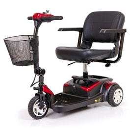 BuzzAround Lite Compact Travel Power Scooter 3-Wheel-250 Lbs Cap in Houston TX by Golden Technologies