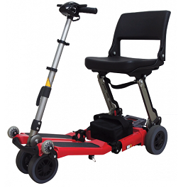 Luggie Classic Folding Mobility Power Scooter-250 Lbs Capacity