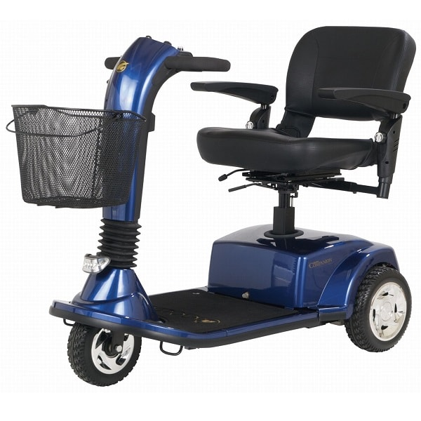 Companion Midsize Scooter 3-Wheel-300 Lbs Cap