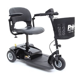 Economy Go Go ES2 3 Wheel Electric Scooter-250 Lbs Capacity in Houston TX by Pride Mobility