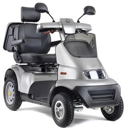 Afiscooter S4 All Terrain Power Scooter 4 Wheel-450 Lbs Capacity
