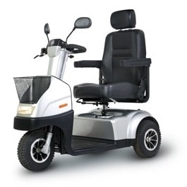 Afiscooter C3 Mid Size Mobiliy Power Scooter 3 Wheel-330 Lbs Cap