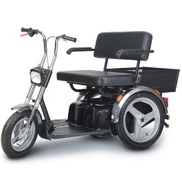SE Wide Seat Full Size Mobility Power Scooter 3 Wheel-500 Lb Cap