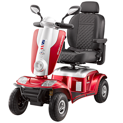 SNS Luxury Superior Power Scooter 4 Wheel-440 Lb Capacity
