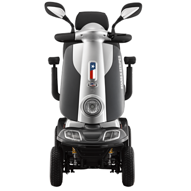 SNS Luxury Texas Edition Deluxe Power Scooter 4 Wheel-352 Lb Cap