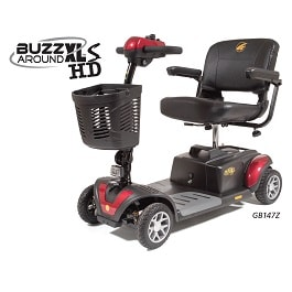 BuzzAround w/ Suspension & Long Lasting Batts 4 Wheel-325 Lb Cap