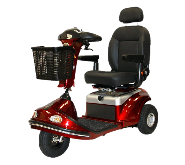 Sprinter XL3 Deluxe Heavy Duty Scooter-500 Lbs Capacity
