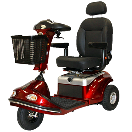 Deluxe Power Scooter