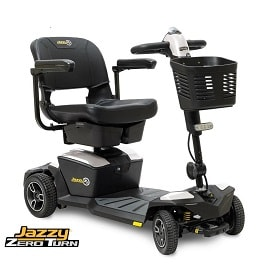 Jazzy iTurn Zero Turn Power Scooter 4 Wheel - 300 Lb Cap