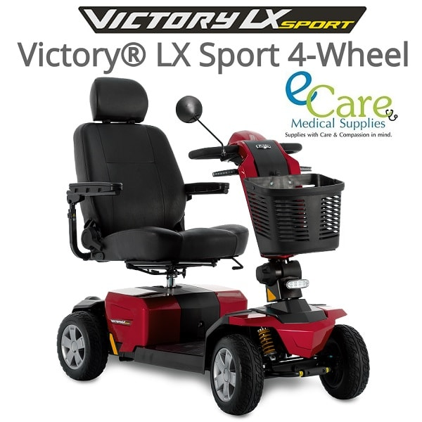 Victory 10 LX Sport With CTS Suspension - 400 Lb Cap