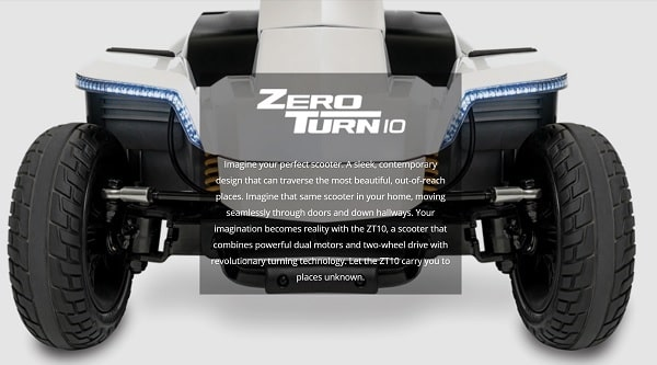 Victory Zero Turn 10 With Suspension System