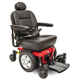 Jazzy 600 ES Full Size Power Wheelchair-300 Lbs Capacity