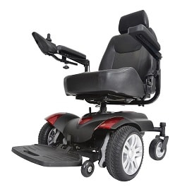 Titan Power Wheelchair 20X18 Full Back Captain Seat-300 Lbs Cap in Houston TX by Drive Medical