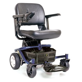 Portable Lite Rider Envy Power Wheelchair-300 Lbs Cap in Houston TX by Golden Technologies