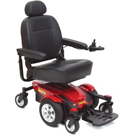 Jazzy Select 6 Power WChair W/ Power Elevating Seat - 300 Lb Cap