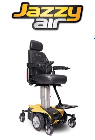 Jazzy Air With Power Elevating Seat - 300 Lb Cap
