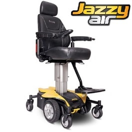 Jazzy Air Power Chair - Power Elevating Seat - 300 Lb Cap in Houston TX by Pride Mobility