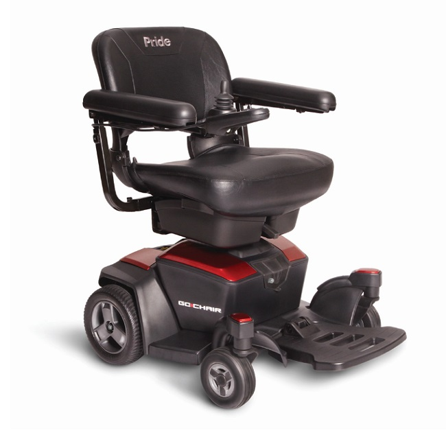 Improved Lightweight Go Chair Power Wheelchair-300 Lbs Cap