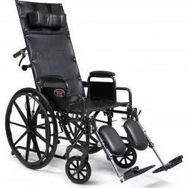 "Advantage Recliner Wheelchair 16"" X 17"" w/ Legrest-300 Lbs Cap."