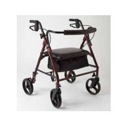 Heavy Duty Rollator & Rollating Walker-500 Lbs Capacity