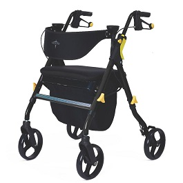 Empower Adjustable Rollator and Walker With Memory Seat 300 Lb Cap in Houston TX by Lumex