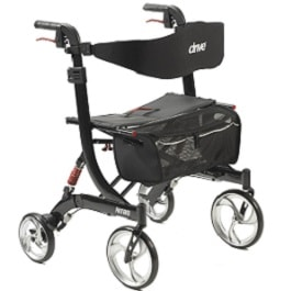 Nitro Heavy Duty Rollator With Suspension System - 450 Lb Cap