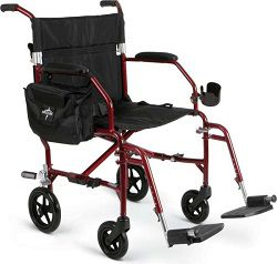 Lightweight Freedom 2 Transport Chair-300 Lbs Cap.