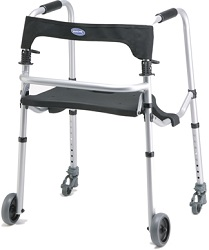 Invacare WalkLite Walker Lightweight aluminum Frame 300 Lbs Cap in Houston TX by Invacare