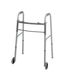 "Basic Walker with 5"" Wheels-400 Lbs Capacity"