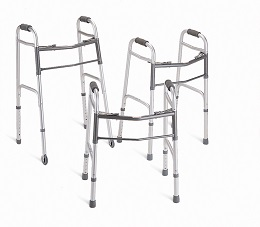 Two Button Basic Adult Walker-400 Lbs Capacity