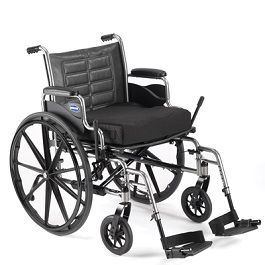 "24"" Wide Bariatric Wheelchair Trace IV-450 Lbs Cap."